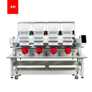 BAI 4 heads computerized embroidery machine for hat/hat/t shirt