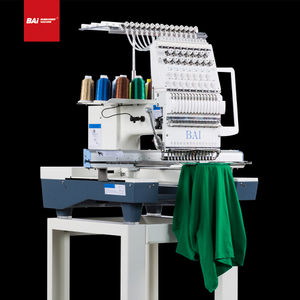 BAI Automatic Portable Small Embroidery Machine Prices for T-shirt