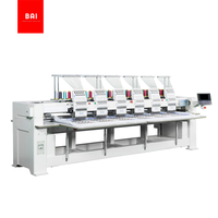 BAI High Speed Automatic 12 Needles 6 Heads Dahao Computer Embroidery Machine for Hat