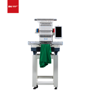 BAI Single Head Multifunction Computerized Flat Embroidery Machine with Normal Embroidery Area