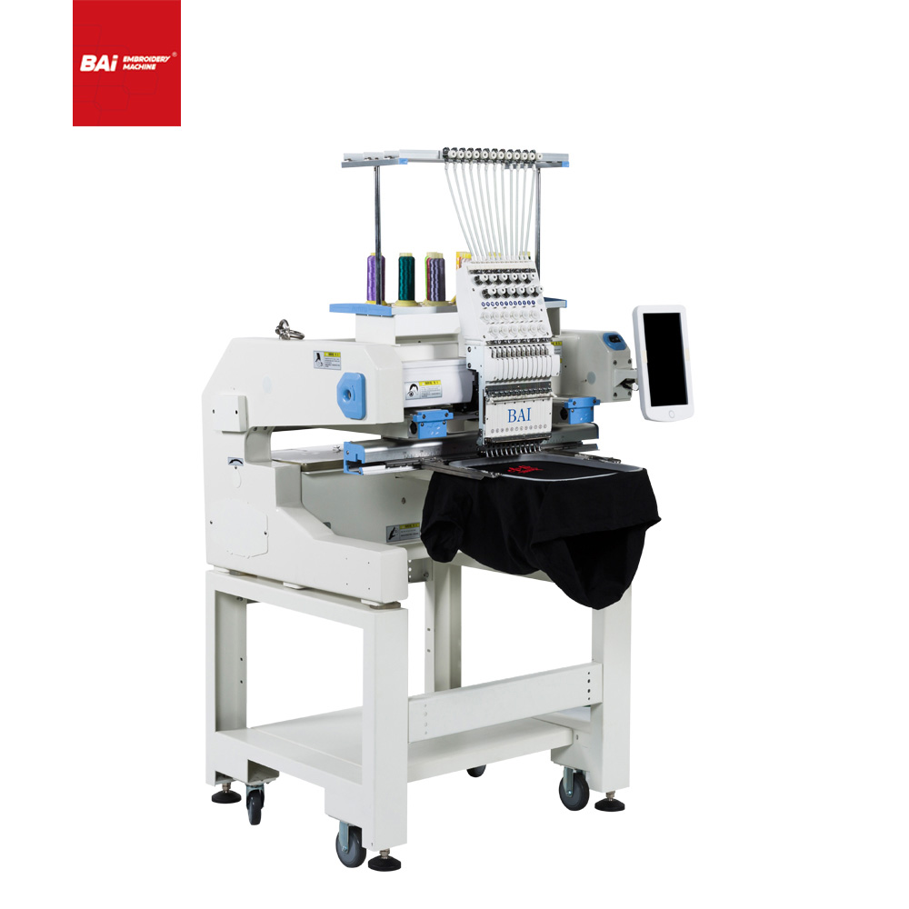 BAI China Factory Home Computerized Hat Embroidery Machines for India Japan