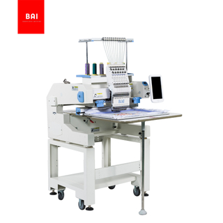 BAI Automatic Single Head Home Use 13 Languages Curtain Flat Bed Computerized Embroidery Machine
