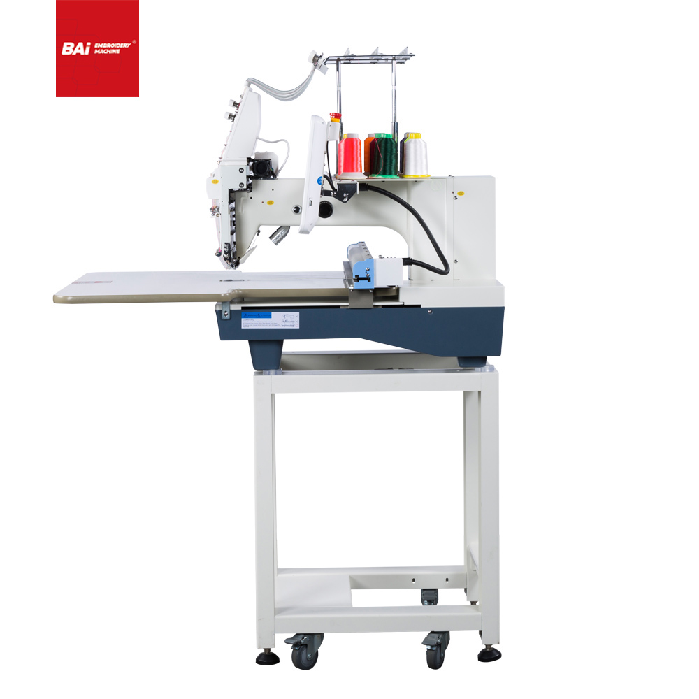 BAI single head automatic industrial embroidery machine with DAHAO electric control system