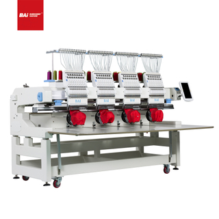 BAI Advanced Customized Four Heads Computer Embroidery Machine for Factory