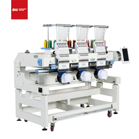 BAI Professional Computerized Hat Garment Embroidery Machine for Factory