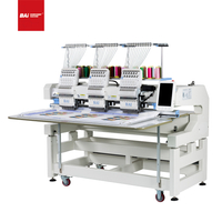 BAI Popular High Speed Cap T-shirt Flat Computer Embroidery Machine in Europe