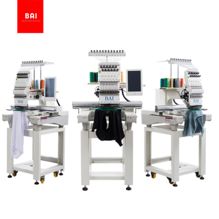 BAI Multi Needle Cheap Single Head Hat Hat Embroidery Machine Price with Latest Technology
