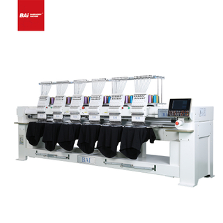 BAI Industrial 6 Head Muliti Dahao Computerized Embroidery Machine Price