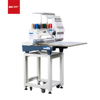High Quality BAI Single Head Industrial Computerized Embroidery Machine Made in China