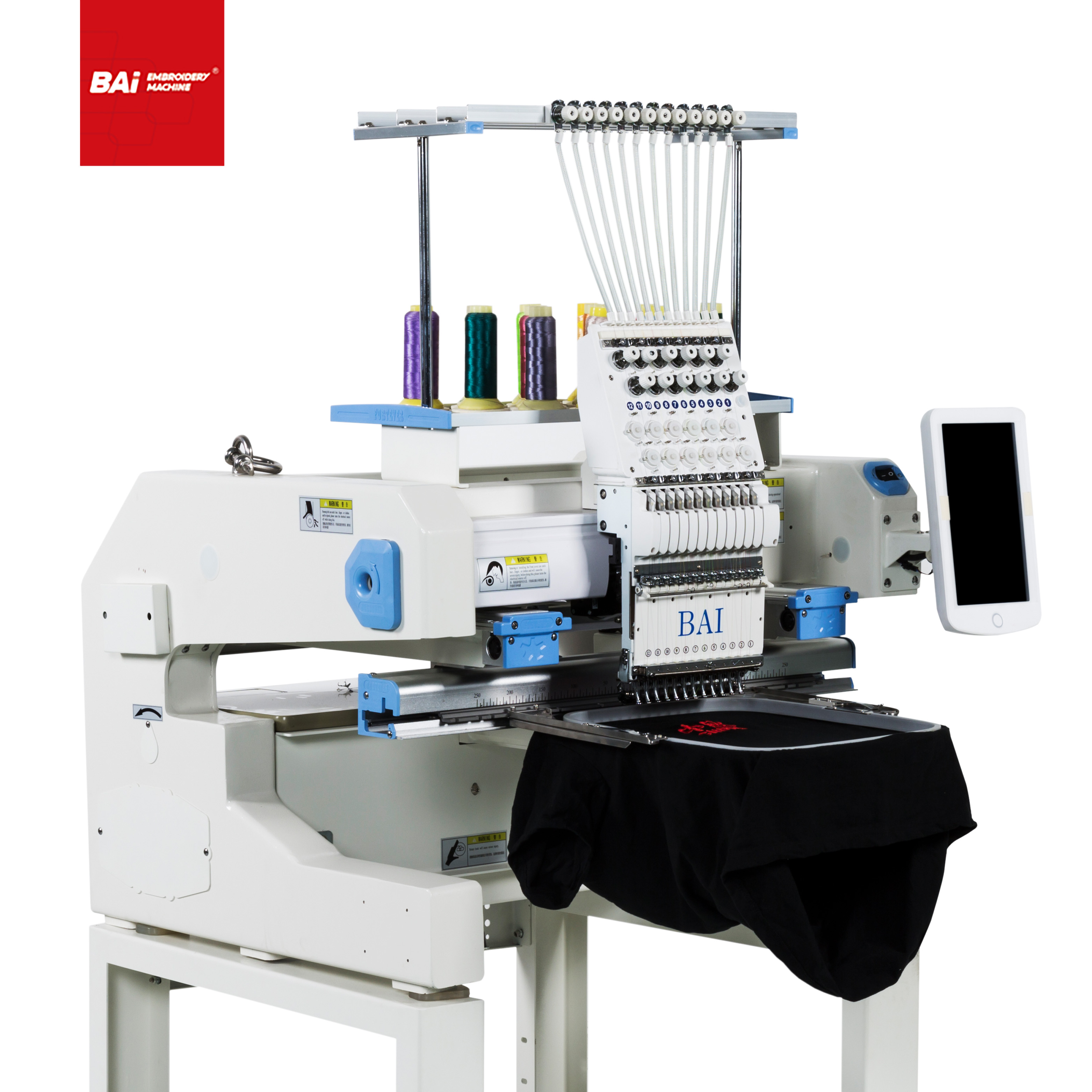BAI High Speed Single Head Machine for Household Embroidery Machine with Price