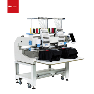 BAI Two Hand Commercial Computerized Embroidery Machine for Denim Embroidery