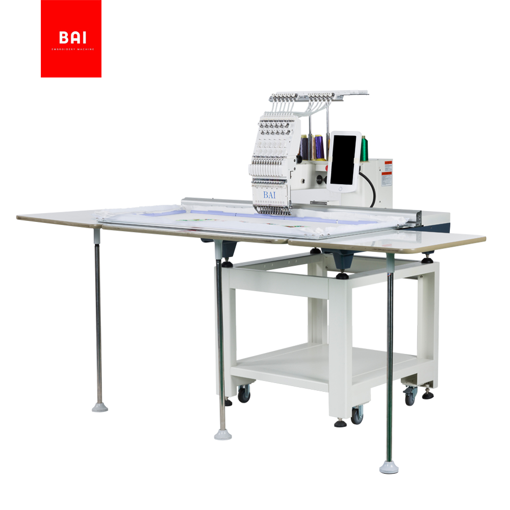BAI Computerized 500*1200mm Large Area Flat Embroidery Machine