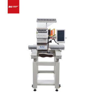 The Latest Industrial Design BAI High Speed Single Head Embroidery Machine with Good Price