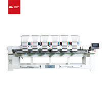 BAI 12 Needles High Speed Six Heads Dahao Computer Embroidery Machine for Cap