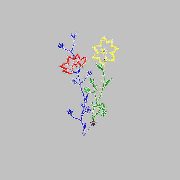 2020 Explosion Models, Fresh Flowers, Free Consumer And Commercial Embroidery Patterns