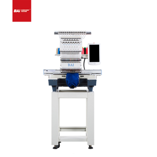 BAI 12 Colors Single Head Computerized Embroidery Machine with Big Discount