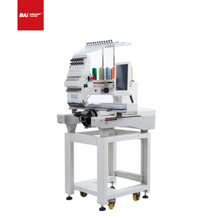 BAI High Speed Single Head Computerized Embroidery Machine for Design Shop with Cheap Price