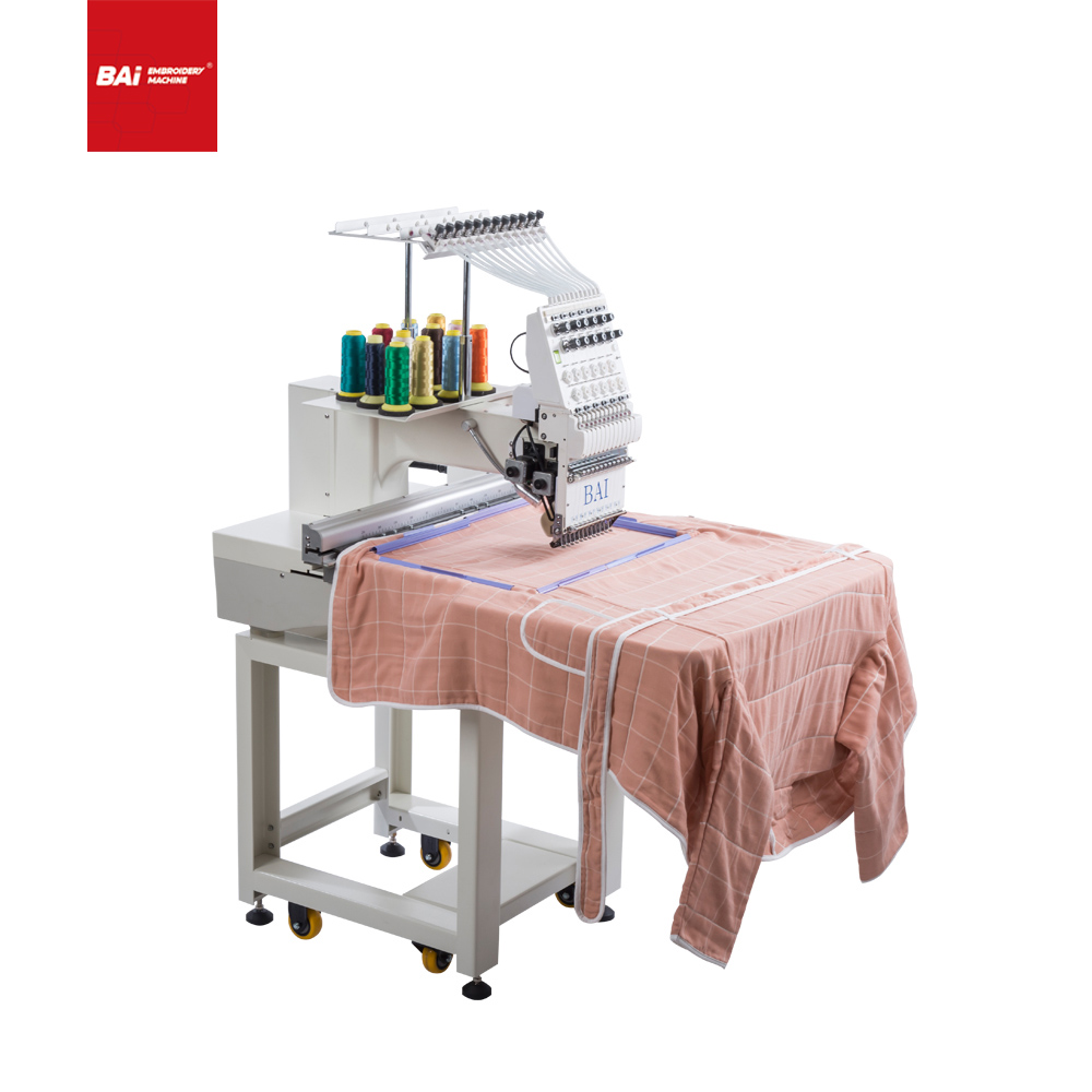 BAI Advanced Industrial Computerized Embroidery Machine That Can Embroider All Types of Fabric