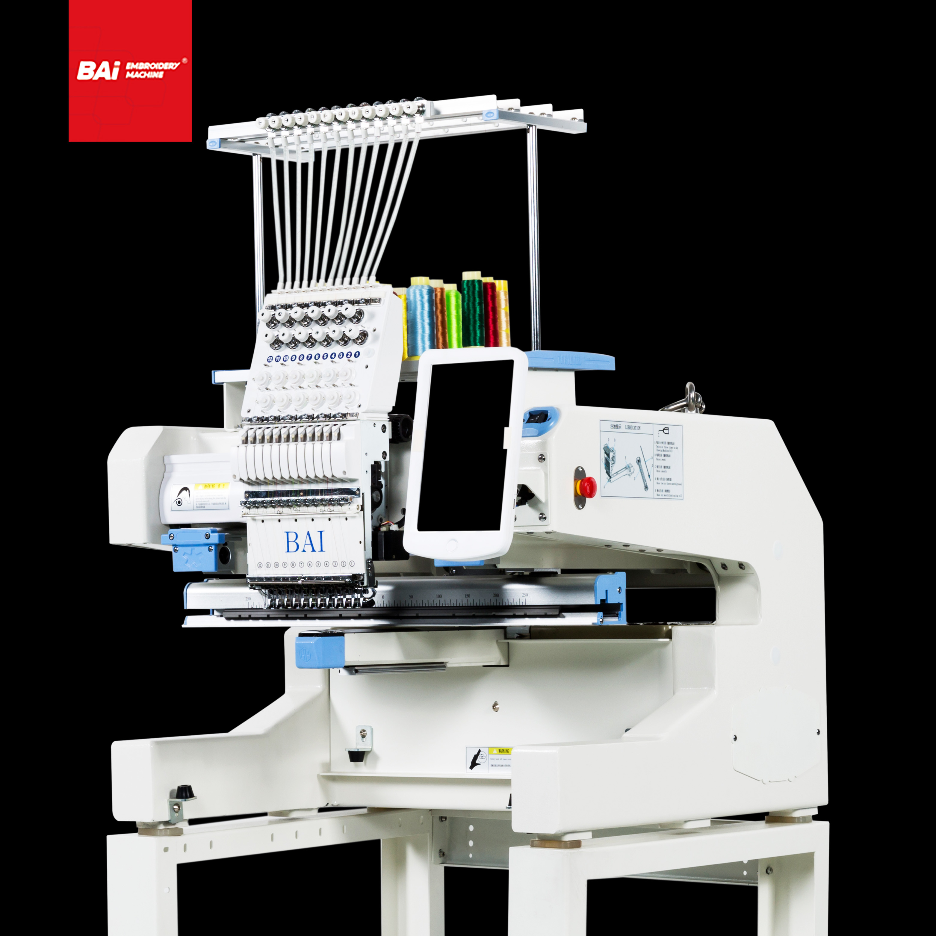 BAI Hat Embroidery Machine Sale for Professional with Computer