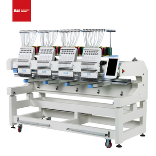 BAI Multi Heads High Speed Industrial Computerized Embroidery Machine for School Uniforms